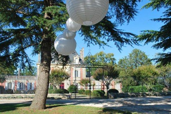 Chateau Saint Ahon: Vue du parc