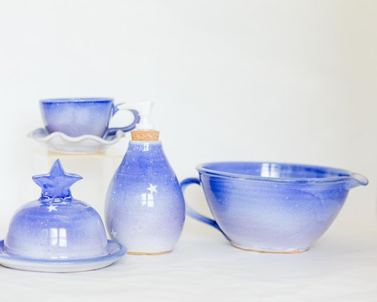 Local Works Marketplace at WREN : Beauitful pottery made by Voice of Clay