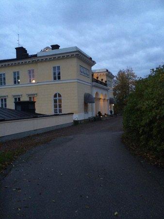 Villa Aske: Tidig oktobermorgon