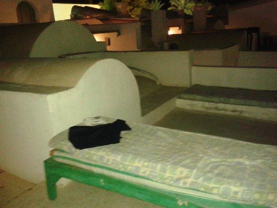 Kanabesh Hotel Naama Bay: Villa roof