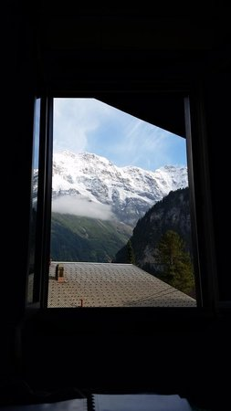 Esther's Guesthouse: My view from bed