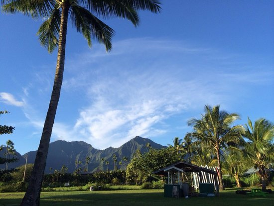 Na Pali Explorer: View from the north shore departure point