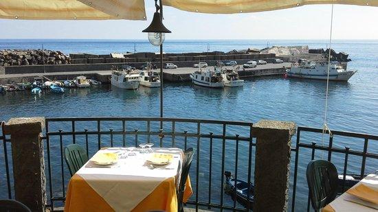 Trattoria Scalo Grande : the harbor