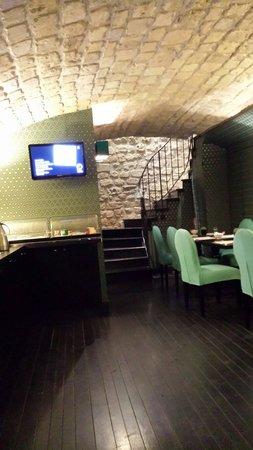 Hotel Monceau Elysees: Sala colazione