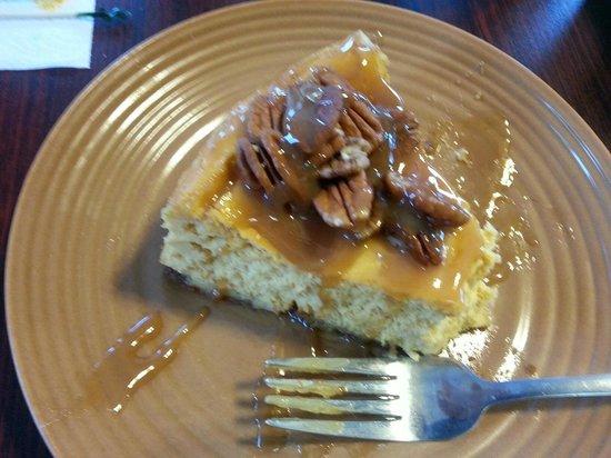 Smoky Mountain Cheesecake Cafe : pumpkin cheesecake