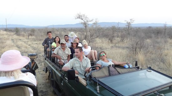 Impodimo Game Lodge : safari du matin