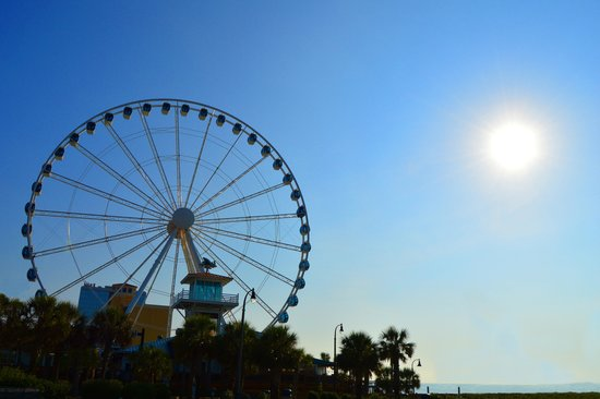 Photo of Monument / Landmark Myrtle Beach SkyWheel at 1110 N Ocean Blvd, Myrtle Beach, SC 29577, United States