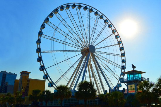 Vip Regular Tickets Same Ride Review Of Myrtle Beach Skywheel Sc Tripadvisor