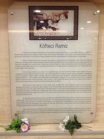 Aydin, Τουρκία: Köfteci Ramiz