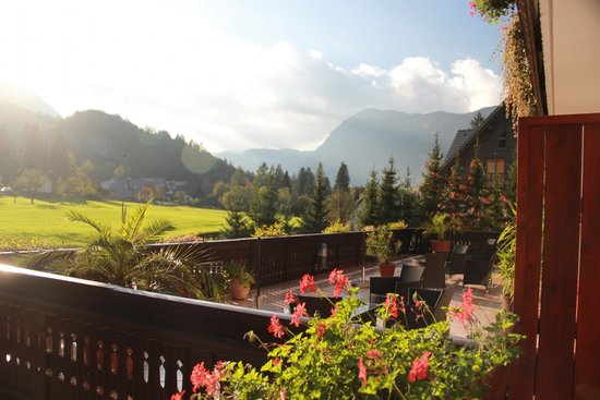 Hotel Gasperin Bohinj: View from room