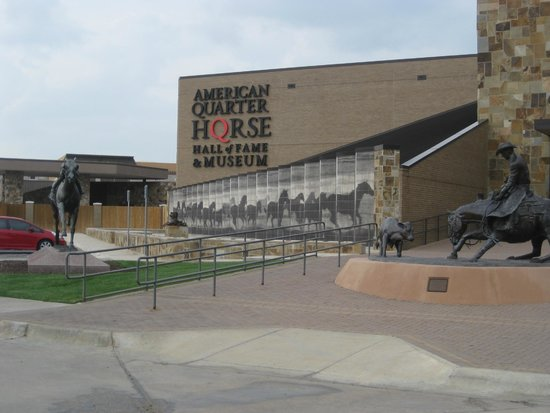 American Quarter Horse Heritage Center & Museum: Outside of Museum.  No pictures allowed inside.