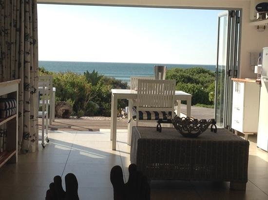 Nieuview: View from King Size bed (yep, thats my toes)