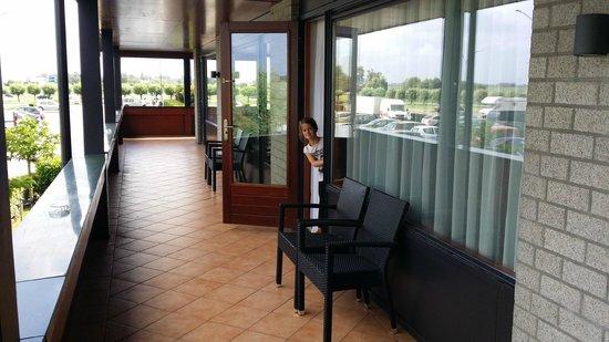 Van der Valk Hotel Akersloot / A9: térase se la chambre