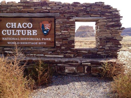 Nageezi, Nuevo Mexico: South Entrance