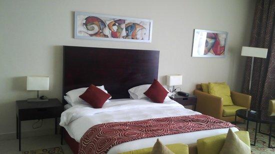 Radisson Blu Hotel, Alexandria : Bed