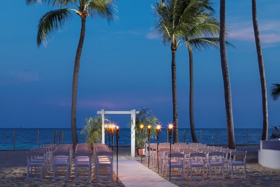 Beach Wedding At Southernmost On The Picture Of