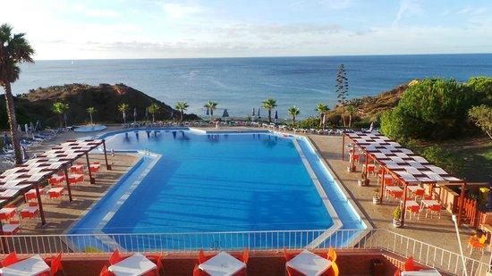 Auramar Beach Resort Pool From Restaurant