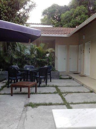Bossa in Rio Hostel: parte superior