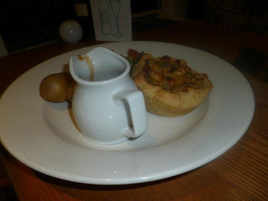 Barton, UK: parsnip, chestnut and lentil pie