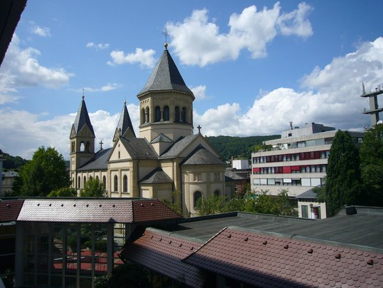 Hotel Frankenland: Blick aus meinem Fenster