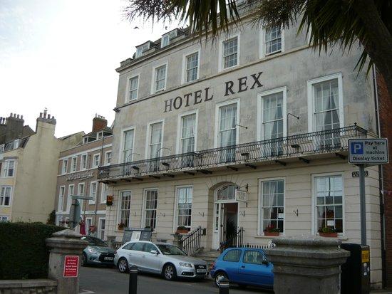 hotel Rex Hotel spot on !