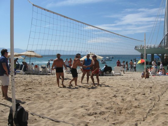 Los Muertos Pier: Volleyball at a Hotel on the south side; public can play as long as a member is present.  Around