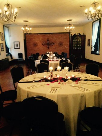 Cornwall Inn: Rehearsal Dinner