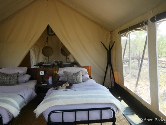 Machaba Camp: Our tent