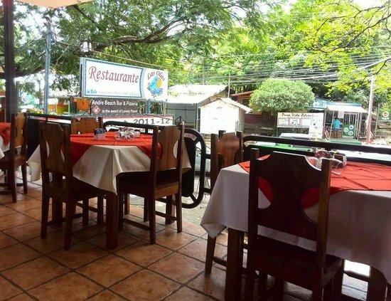 Restaurante Las Olas: Lindo Dia