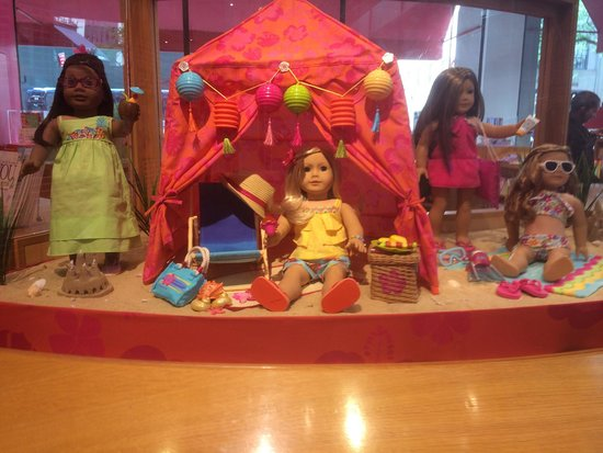 American Girl Place - New York: Très belle mise en situation !