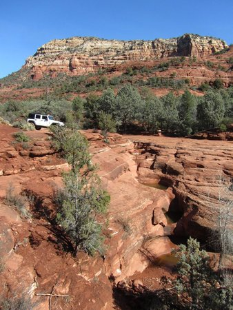 Barlow Jeep Rentals: The Seven Pools on the Soldier Pass trail