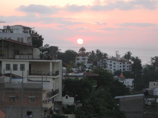 Old Vallarta: Beautiful January Sunset