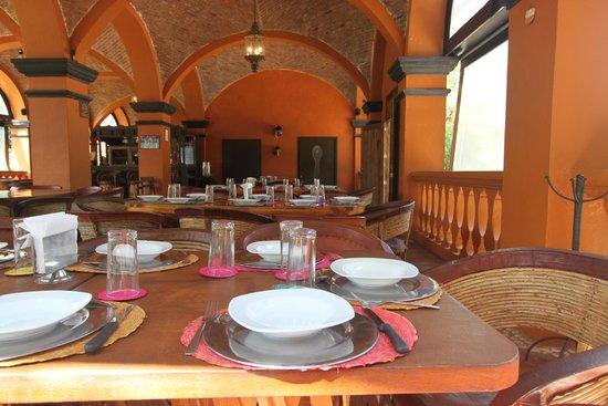 El Marques Hacienda Hotel: Restaurante