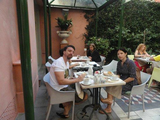 Palazzo dal Borgo Hotel Aprile : Café da manhã