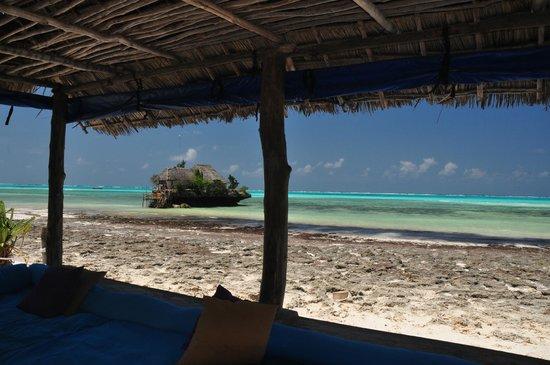 Upendo Zanzibar: Views from the restaurant-Bar