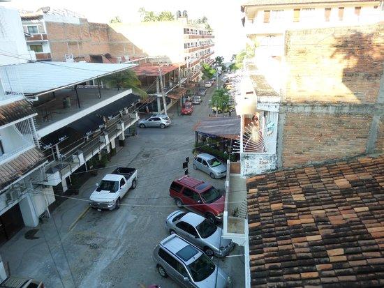 Hotel Casa Dona Susana: View from Balcony