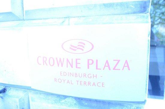 Crowne Plaza Edinburgh - Royal Terrace: Entrance