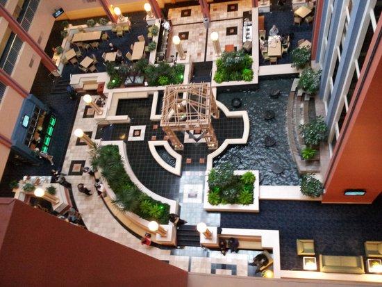 Embassy Suites by Hilton Cincinnati - RiverCenter (Covington, KY): Atrium from the 8th floor