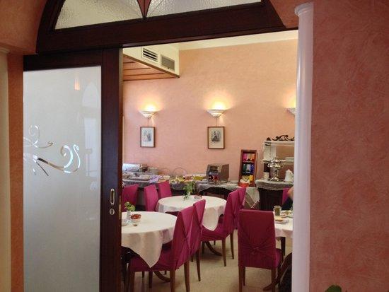 Best Western Hotel San Giusto: vista sala colazione
