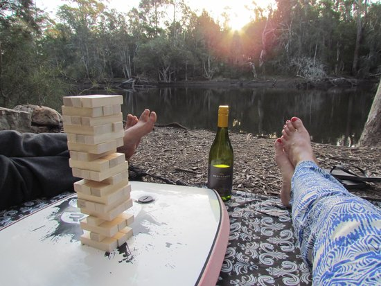 Jervis Bay Cabins: Riverside bliss!