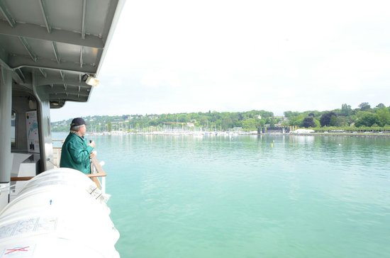 Hotel N'vY : Lake Geneva from a boat trip