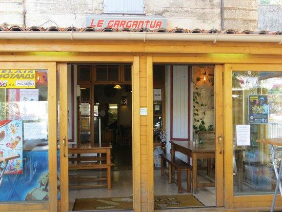 Le Gargantua: Front of Restaurant