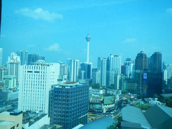 Hotel Royal Kuala Lumpur: View from our hotel window of the KL Tower