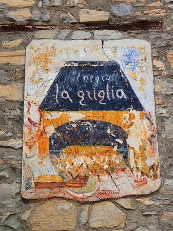 LA GRIGLIA: sign outside
