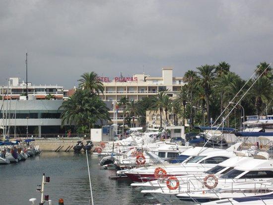Hotel Planas : Hotel from the Marina