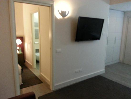 Navona Palace Residenze di Charme: TV in Bedroom