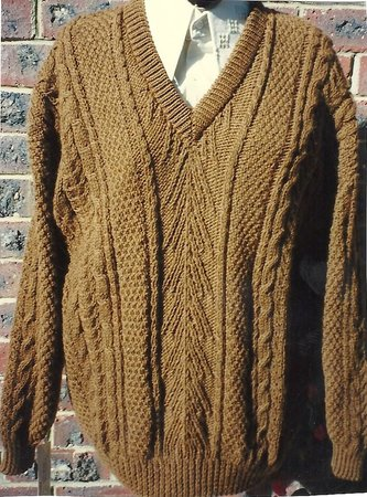 Knits By Pamela: Whisky - wide range of Aran knits in pure wool