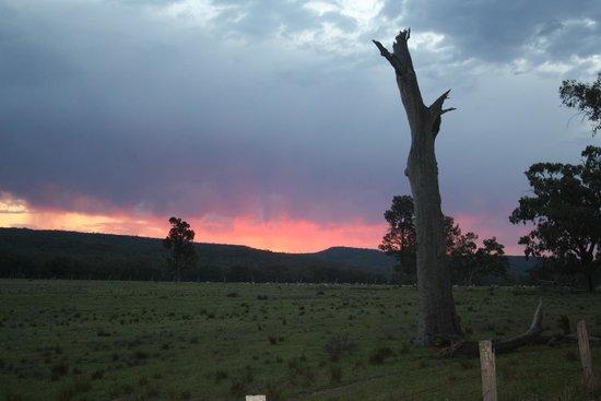 Barkala Farmstay: Sunset