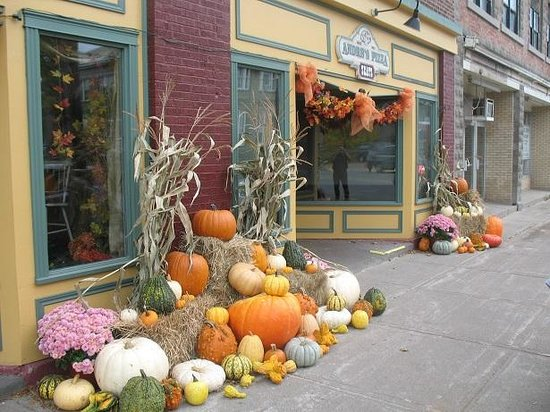 Andre's Seats: Fall Decorations October 2014