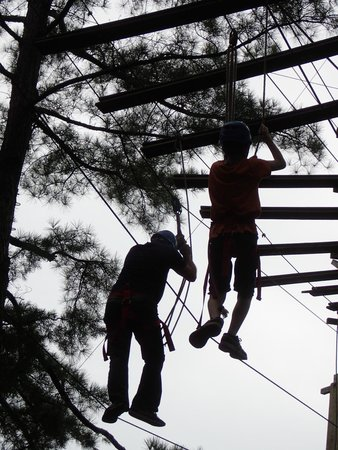 Whitewater Express : Ropes Course...